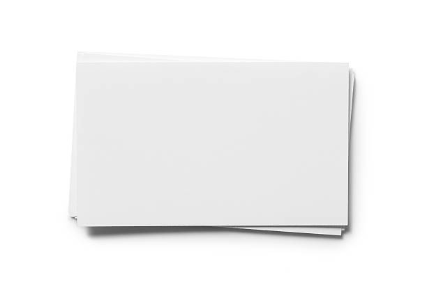blank card - business card stock photos and pictures