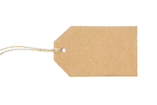 blank cardboard label - label stock pictures, royalty-free photos & images