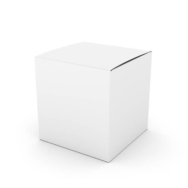 blank carton big box stock photo