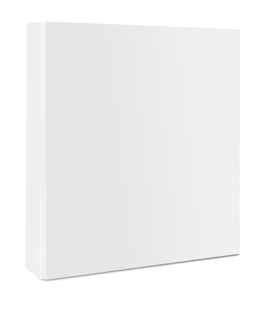 Blank Case Binder Stock Photo - Download Image Now