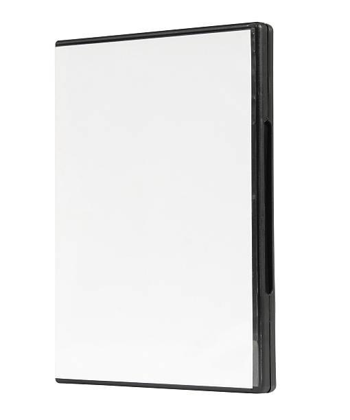 DVD blank case, dvd box stock photo
