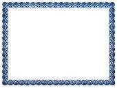 Certificat Ou Diplôme Vierge Stock Vector Freeimages Com