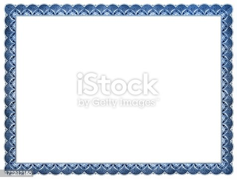 Blank Certificate Stock Photo  More Pictures Of Achievement  Istock