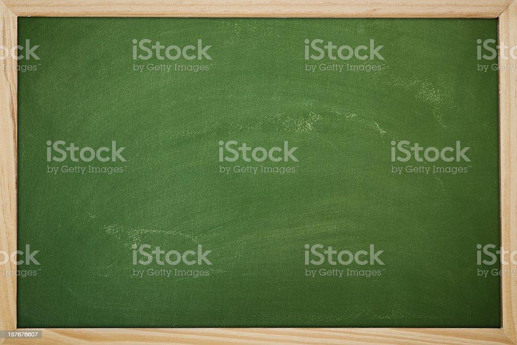 Blank chalkboard royalty-free stock photo