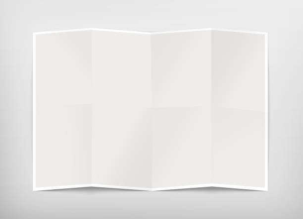 Blank chart design mockup, isolated, clipping path, 3d illustration stock photo