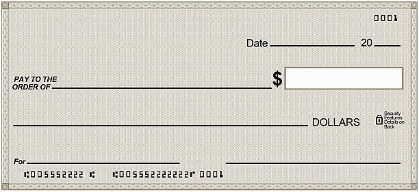 Royalty free large blank check pictures images and stock for Large fake check template
