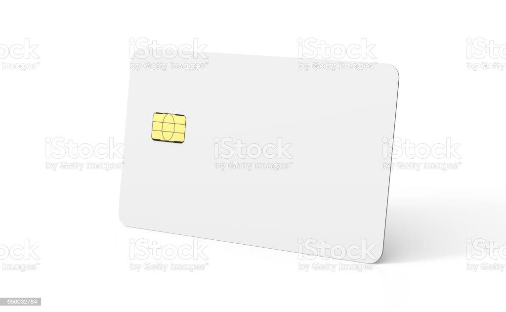 blank chip card stock photo