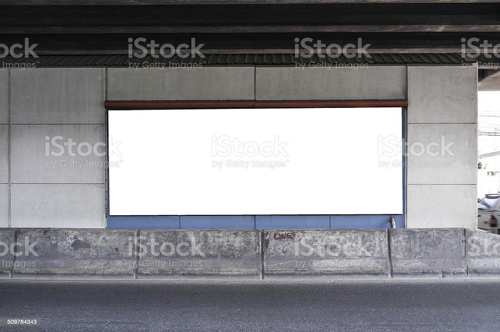 Panneau d'affichage vide ville - Photo