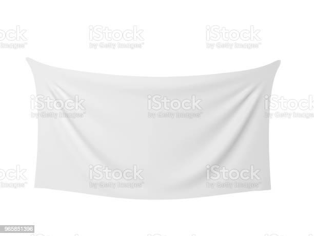 Blank Cloth Banner — стоковые фотографии и другие картинки Бизнес