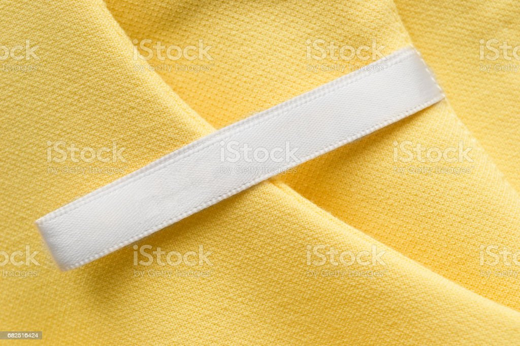 Blank clothes label foto de stock libre de derechos