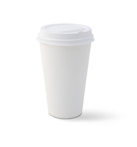 blank coffee cup - paper coffee cup stock photos and pictures