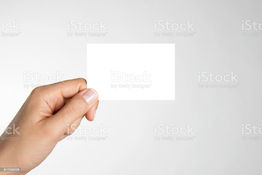 Blank Commercial Sign stock photo