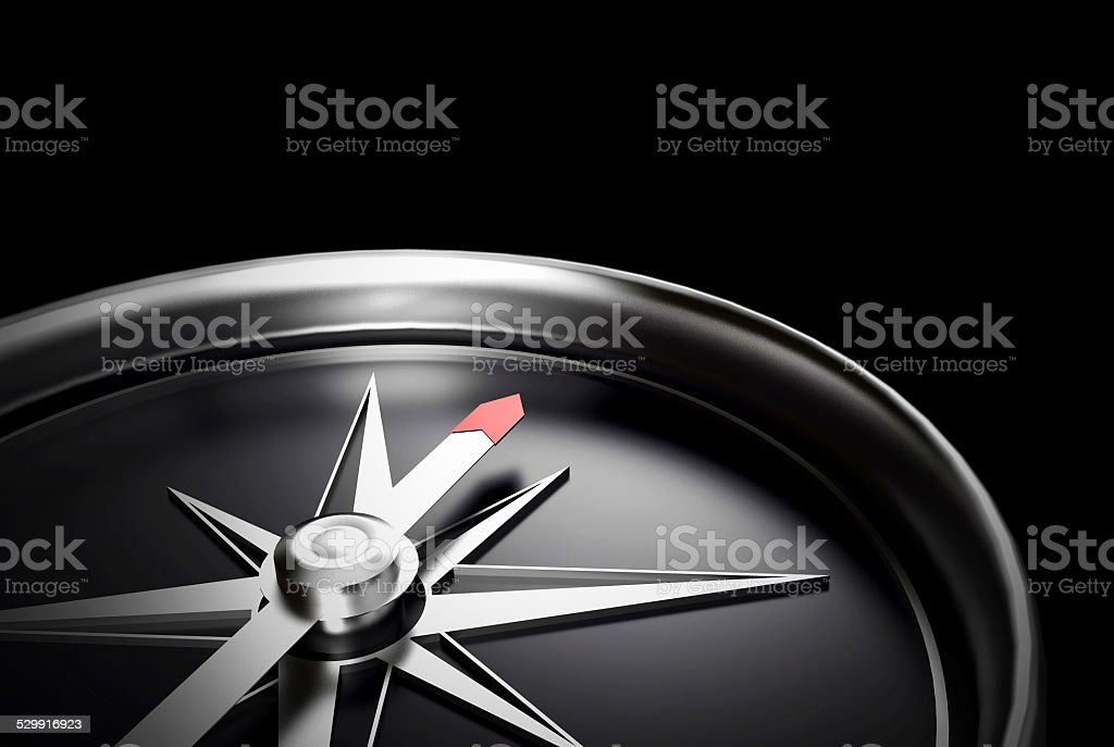 Blank compass direction stock photo