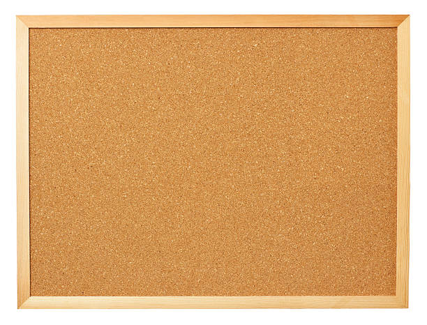 blank cork board. - bulletin board stock pictures, royalty-free photos & images
