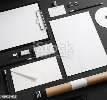 istock Blank corporate stationery 899024652