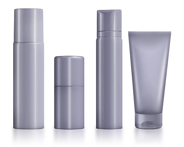 leere kosmetik hygiene container - geld schön verpacken stock-fotos und bilder