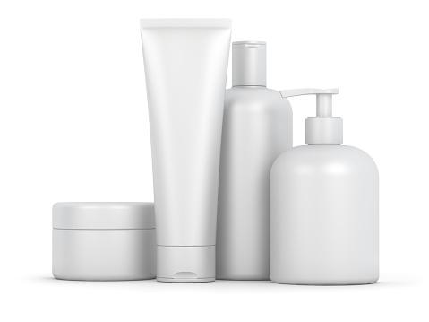 istock Blank cosmetic set 929952990