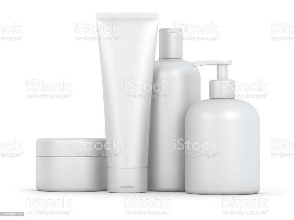 Set cosmétique vide - Photo