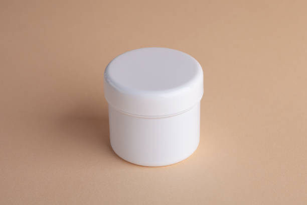 blank cream plastic box mockup - lepro stock pictures, royalty-free photos & images