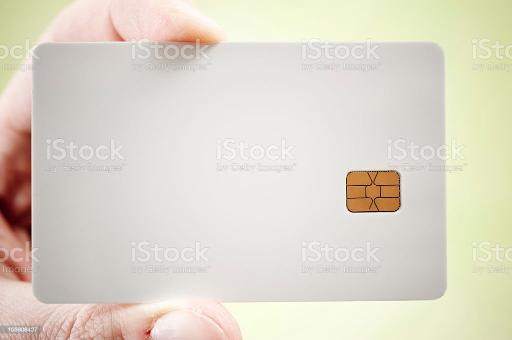 blank credit card stock photo