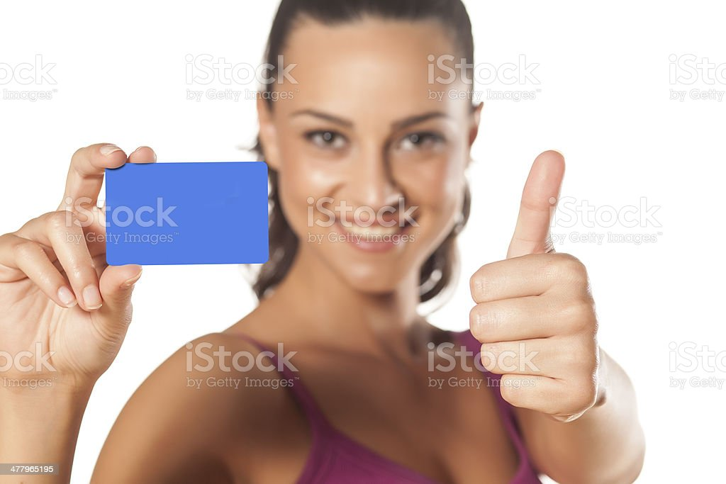 blank credit card royalty-free stock photo