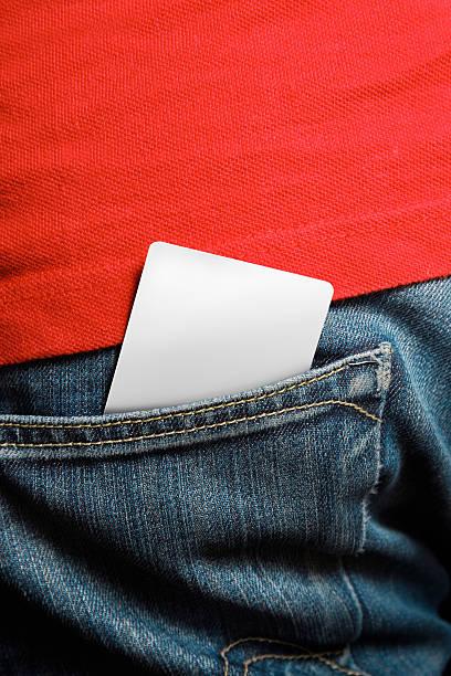 Cartão de crédito em branco - foto de acervo