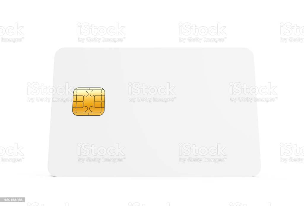 Blank Credit Card Template Stock Photo Download Image Now