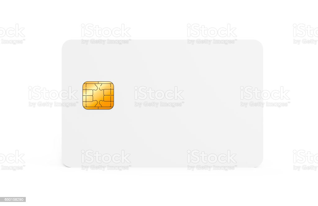 Blank Credit Card Template Stock Photo  More Pictures Of Bank  Istock