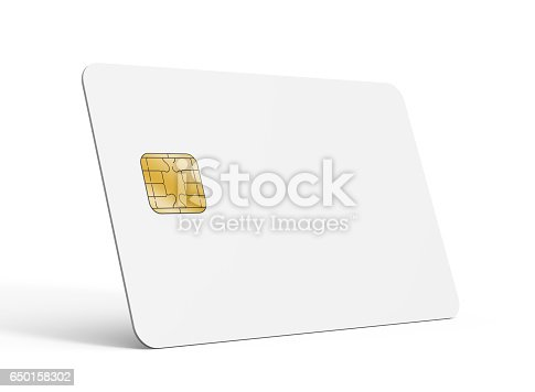 Blank Credit Card Template Stock Photo & More Pictures of