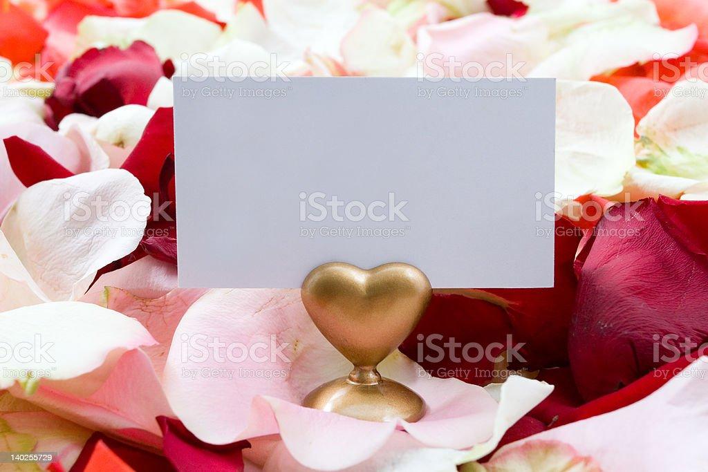 Blank cutaway. royalty-free stock photo