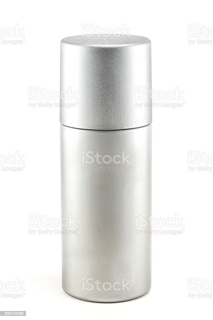 Blank deodorant container stock photo