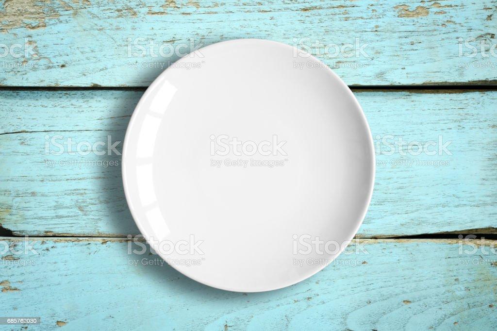 Blank Dish foto stock royalty-free