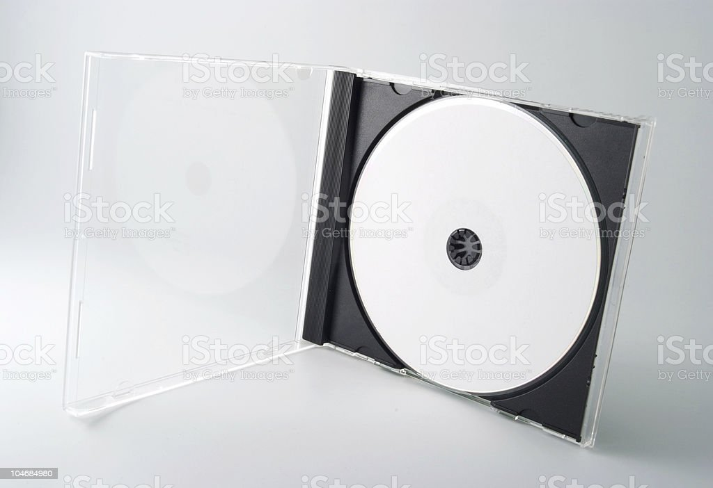 Blank Disk royalty-free stock photo