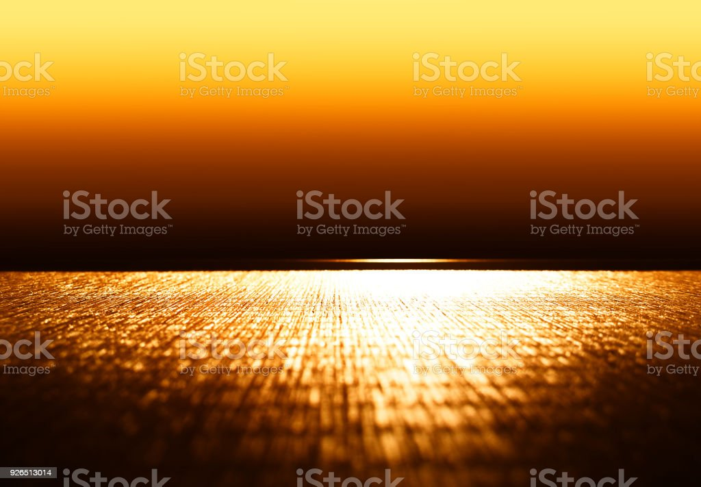 Blank eastern wooden cafe table background stock photo