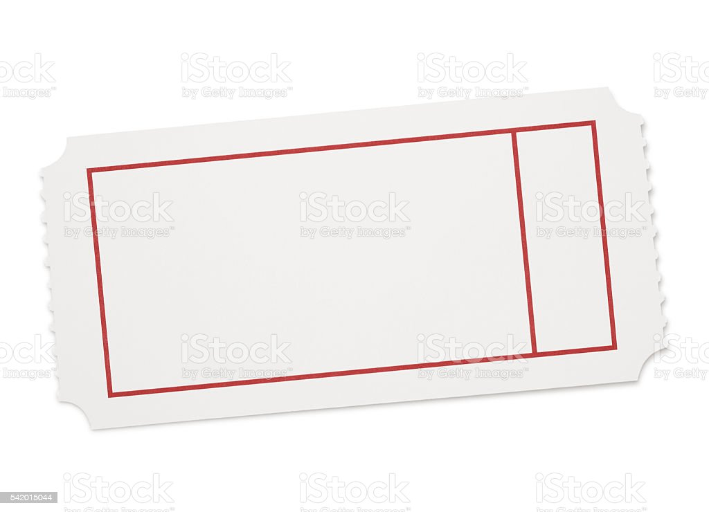 blank event ticket stock photo more pictures of blank istock