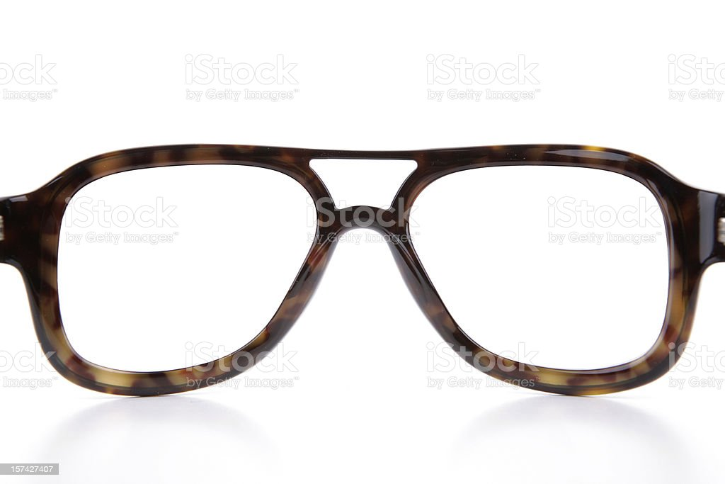Blank Eyewear Frame stock photo