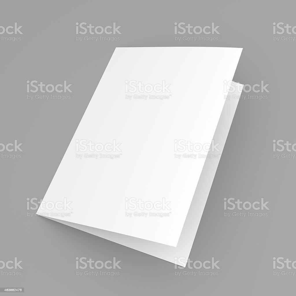 Днем рождения, открытка белая пустая