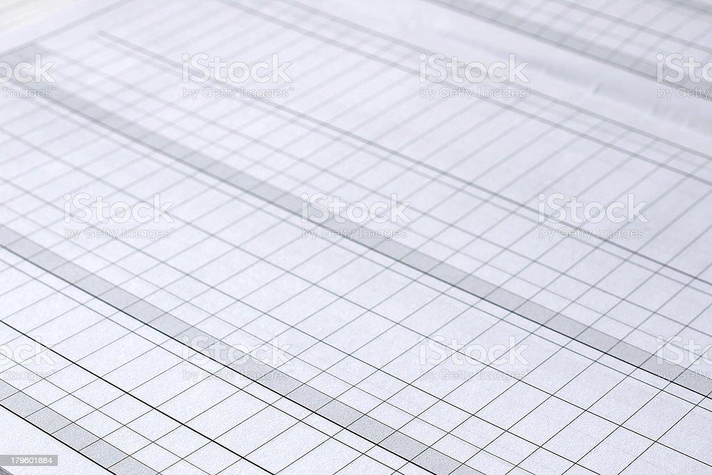 Blank form royalty-free stock photo
