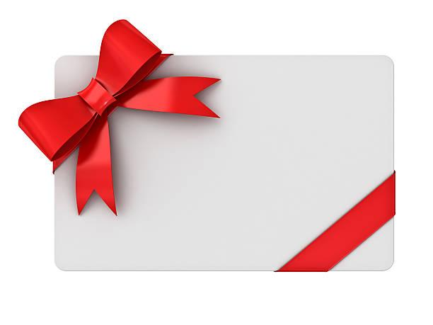 leere geschenkkarte - gutschein weihnachten stock-fotos und bilder