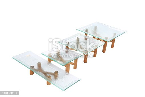 153984410 istock photo Blank Glass Plate 900688196