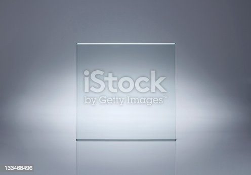 153984410istockphoto Blank glass plate with copy space 133468496
