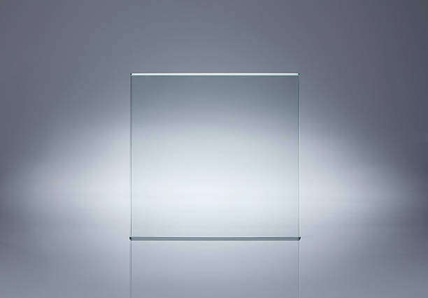 blank glass plate with copy space - glass material stock pictures, royalty-free photos & images