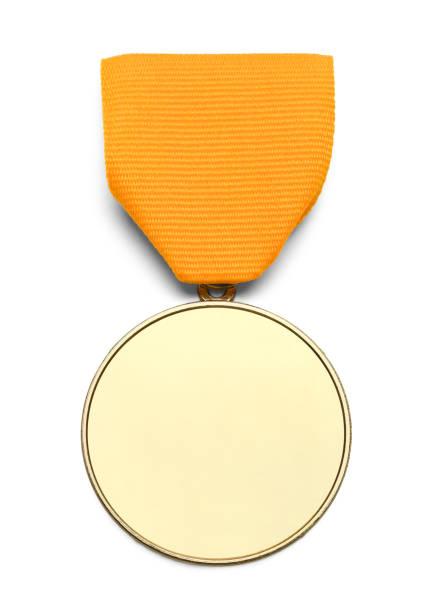 Leere Goldband-Medaille – Foto