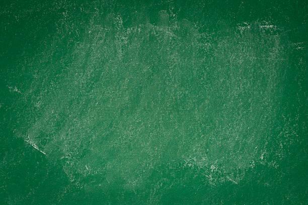 blank green chalkboard background stock photo