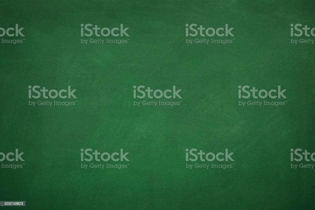 Em branco verde Chalkboard - foto de acervo