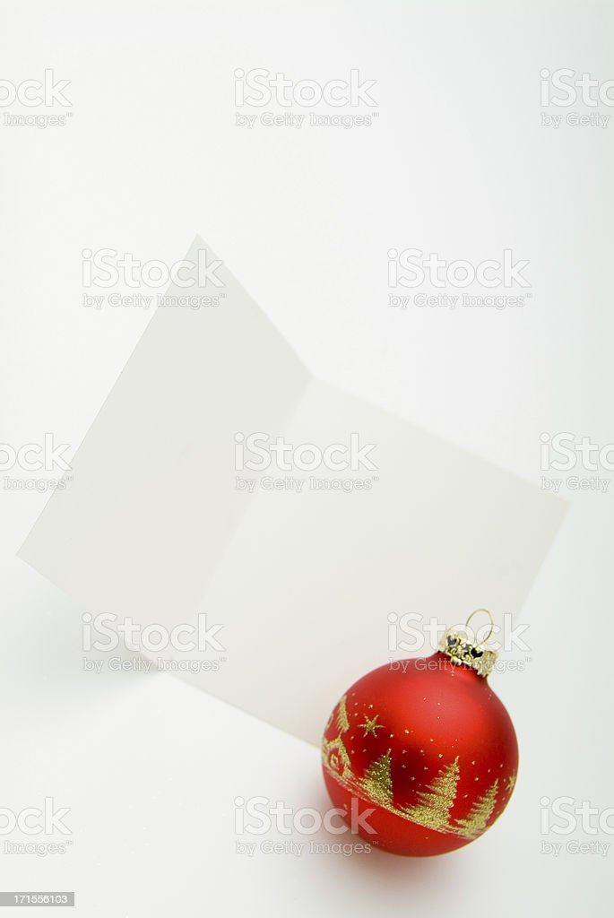 Blank Greeting Card Series royalty-free stock photo