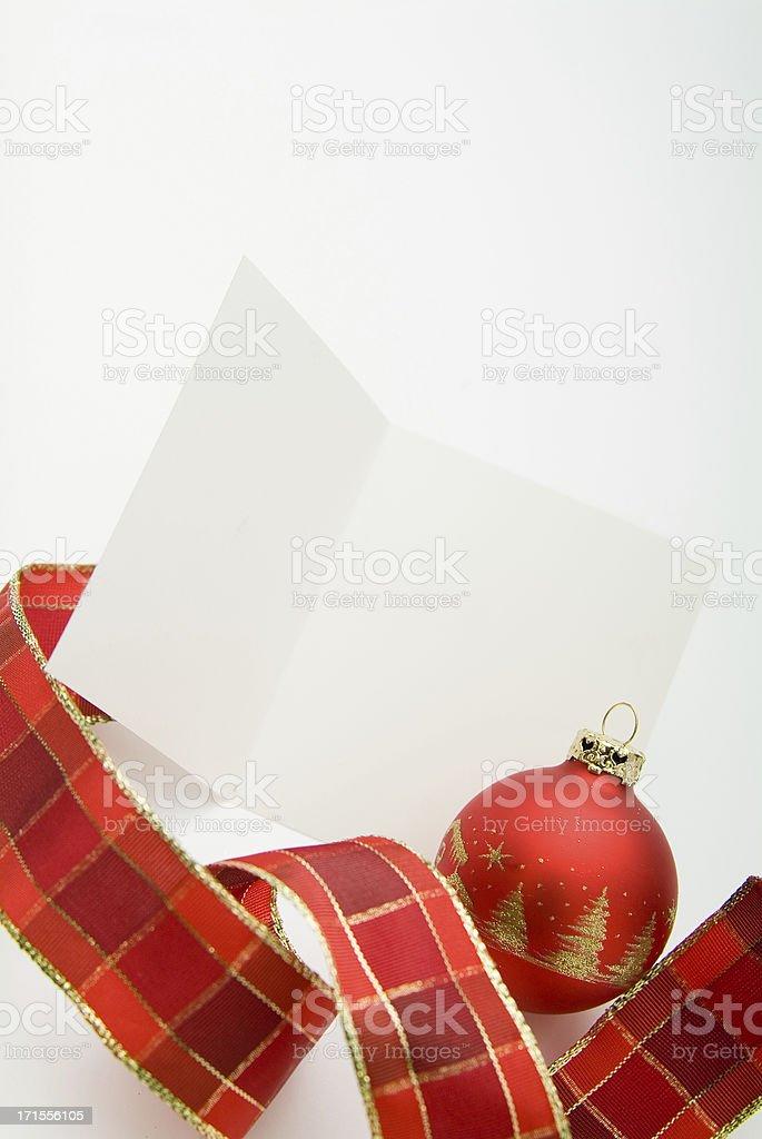 Blank Greeting Card Series royalty-free stock photo