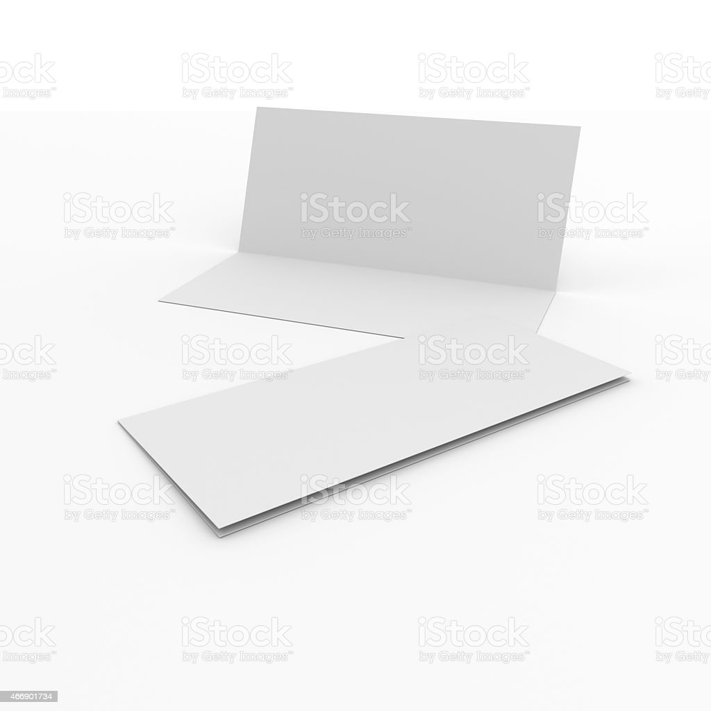 Blank Greeting Cards Stock Photo More Pictures Of 2015 Istock