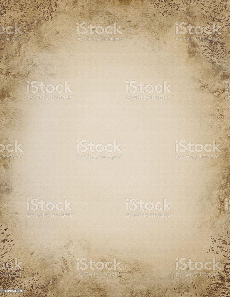 Blank Grunge Canvas royalty-free stock photo
