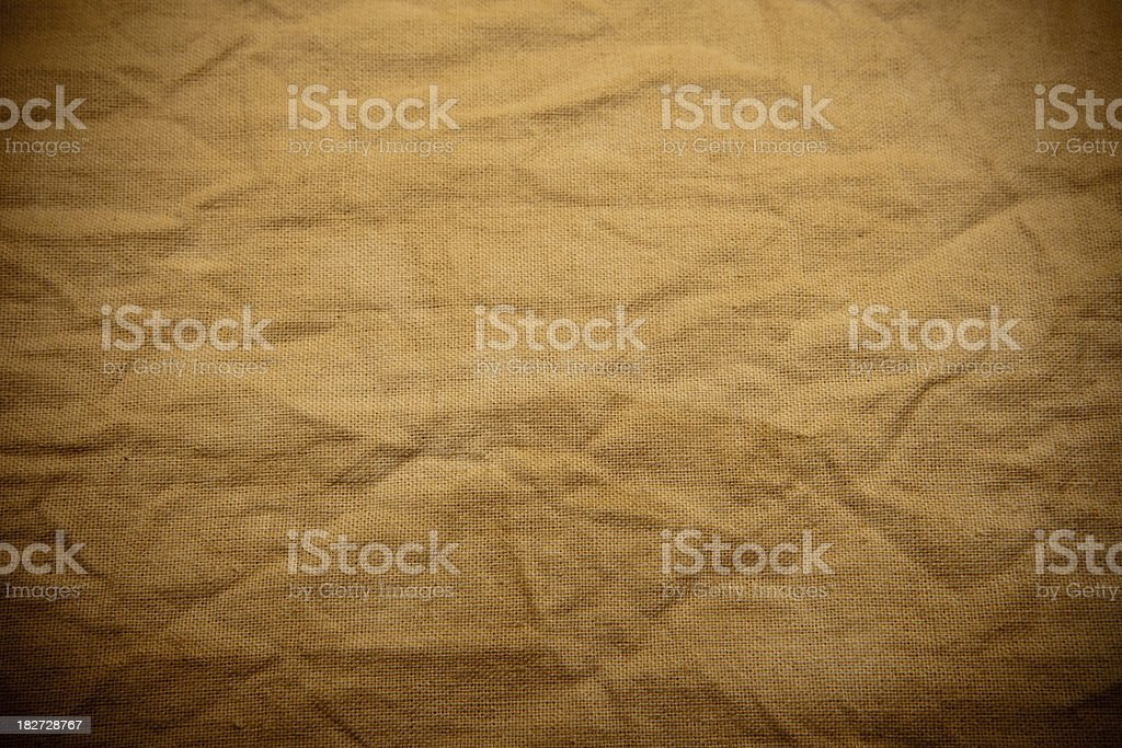 Blank Grungy Canvas Background royalty-free stock photo